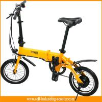Buy cheap Transporter Lightest Folding Bike 2 Wheel Electric Scooter With LED Light For Tourist from wholesalers