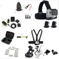 Quality Action Camera Kit for GoPro Accessories Set for Gopro 4 , 3 + , 3, 2, 1 for sale