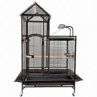 Buy cheap Parrot Cages, Made of Stainless Steel, with Four 360° Adjustable Wheels, Sized 95 x 68 x 155cm from wholesalers