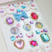 Buy cheap DIY Crystal acrylic stikcer children sticker for craft wall stickers from china from wholesalers