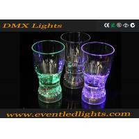 Buy cheap Green / Purple Home Decoration Led Plastic Cups Flashing Drinking from wholesalers