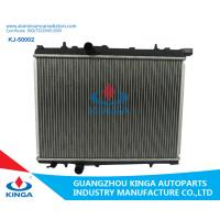 Quality 16 /22/26 Mm Core Thickness Aluminium Car Radiators For Peugeot 206 Mt for sale