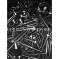Buy cheap HDG M16 Bolts and Nuts With Spring Washers for Electricity Towers from wholesalers