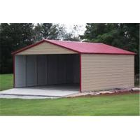 Buy cheap Wholesale outdoor customized size steel garage for sale/three Car Metal Frame garage from wholesalers
