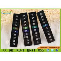 Buy cheap LCD Thermometer Stick - On Temperature Strip Adhesive Backing 18 ~ 36 ℃ from wholesalers