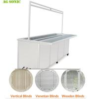 Buy cheap Stainless Steel 304 Ultrasonic Blind Cleaning Machine For Knocks Out Dirt Germs from wholesalers