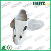Buy cheap Size 35-46 ESD Safety Shoes Surface Resistance 10e6-10e9 Ohm With 4 Eyes from wholesalers