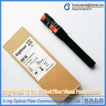 King Honest 10 km Fiber optic visual fault detector pen out pw : >10mW Visual Fault Locator