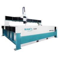 Buy cheap 3000*2000mm bridge type stone marble mosaic waterjet cutting machine with 420Mpa pump from wholesalers