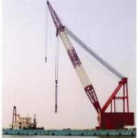 Buy cheap Chile,China Burma floating crane sell charter supply crane barge 100T TO 5000T from wholesalers