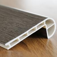 Buy cheap Wall Baseboard PVC Flooring Accessories Anti Discoloration For Bathrooms from wholesalers