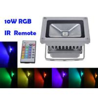 Buy cheap Remote Control 10W RGB LED Flood Lights, Color Changing LED Security Light, 16 Colors & 4 from wholesalers