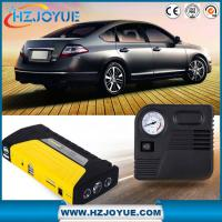 Buy cheap 12v car jump starter with tire air pump compressor emergency hammer from wholesalers