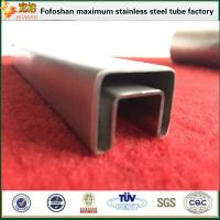 Buy cheap Construction Material 316L Grade Stainlesss Steel Slotted Square Tubing product