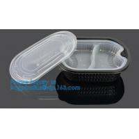Buy cheap Healthy Plastic Food Storage Box from Freezer to Microwave,lunch box 2 compartment hot microwave food container bagease from wholesalers