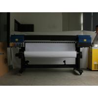Buy cheap 2880 Nozzles DX5 Eco Solvent Printer With Two Pintheads / PVC Types from wholesalers