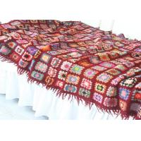 Buy cheap Tassels Forest Thread Lightweight Crochet Baby Blanket Handmade With Flowers from wholesalers