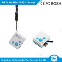 Buy cheap Global smallest gps tracking device kids tracker nigeria cell phone numbers tracker rf-v16 from wholesalers