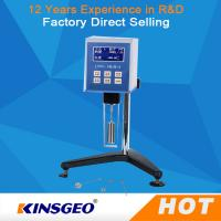 Buy cheap Backlight LCD Digital Display High Temperature Viscometer With LCD Backlight from wholesalers