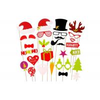Buy cheap 20 Cm Felt Christmas Decorations Photo Props With Small Bamboo Sticks from wholesalers