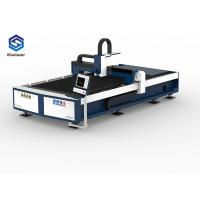 Buy cheap 2000/3000W Metal Fiber Laser Cutting Machine AC 380V Cypcut Control System from wholesalers