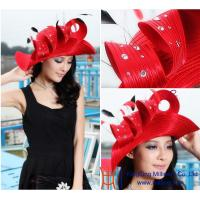 Buy cheap New Design Women satin church hats wholesale / wholesale church hats / church hat from wholesalers