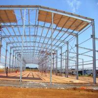 Buy cheap Steel Structure Airplane Storage Building with Low Cost and nice quality from wholesalers