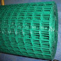 Buy cheap Galvanized & Pvc Coated Welded Wire Mesh Green color 1/4×1/4 from wholesalers