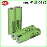 Buy cheap CGR18650CG 18650 Lithium Polymer Battery 2200mAh High Rate Charge / Discharge from wholesalers