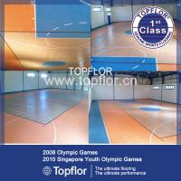 Buy cheap Portable plastic indoor basketball court sports flooring from wholesalers