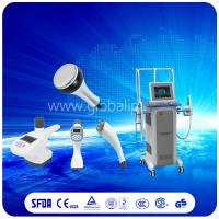 Buy cheap Safely  Vacuum Slimming Machine combine Vacuum suction RF + Infrared Light + Roller from wholesalers