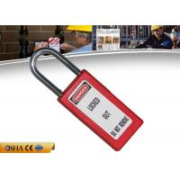 Buy cheap ZC-G81 Safety Lockout Padlocks Long Body Steel Shackle Light Weight from wholesalers