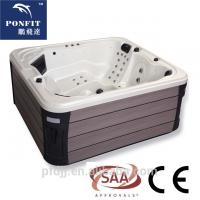 Buy cheap Corner Location Freestanding Spa Tub 5 Person Capacity With Bluetooth Speakers from wholesalers