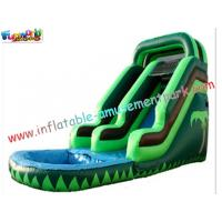 Buy cheap Kids Play Toys Big Commercial Outdoor Inflatable Backyard Water Parks Slides for re-sale from wholesalers