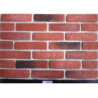 Buy cheap Red Classical Faux Exterior Brick Solid Surface Acid Resistance For Construction from wholesalers