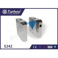 Buy cheap PC arm brushed motor stainless steel flap barrier gate for industrial application product