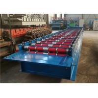 Buy cheap Joint Hidden Standing Seam Roll Forming Machine , Roof Panel Machine 20 Rollers from wholesalers