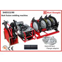 Buy cheap Hydraulic HDPE pipe butt fusion welding machine 90mm to 315mm  SHD315/90 from wholesalers