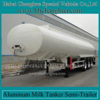 Buy cheap 2014 HOT 60000L steel tri-axle, 3 axles fuel tanker trailer for sale from wholesalers