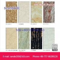 Buy cheap Colorful Wall Paintings Decoration Fibre Cement UV Wall Board 2440*1220*6/8/9mm from wholesalers