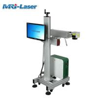 Buy cheap 100,000 Hours Working Flying Laser Marking Machine Customized Engraver product
