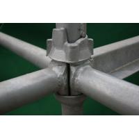 Buy cheap Q235, Q345 Cup Lock Scaffolding equipment cold galvanizing 1524 * 1524mm for construction from wholesalers