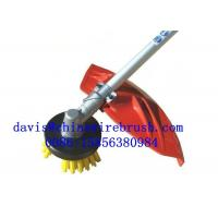 Buy cheap Fast Delivery 8 Inch Nylon Weed Remover Machine Brush For Grass Trimmer from wholesalers