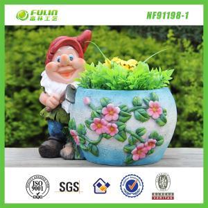 Buy cheap Cheap Resin Flower Planter Pot product