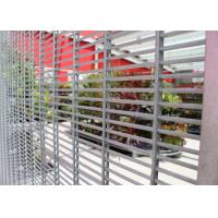 Buy cheap Polyester Powder Wire Mesh Security Fencing Max Perimeter Protection Anti -Climb Security Twin wire Fencing Panels from wholesalers