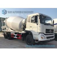 Buy cheap 4M3 6 wheels carbon steel Dongfeng Concrete Mixer Truck with Italy pump for sale from wholesalers