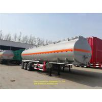China 40000L Heavy Duty Semi Trailers Fuel Tank Semi Trailer For Diesel And Oil on sale