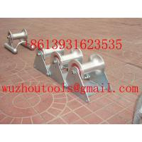 Buy cheap Cable Roller,Triple Corner Rollers,Manhole Quadrant Roller from wholesalers