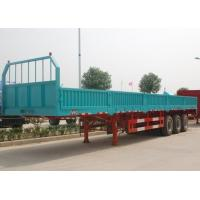 Buy cheap Carbon Steel Heavy Duty Cargo Semi Trailer , Bulk Cargo Sliding Doors Trailer from wholesalers