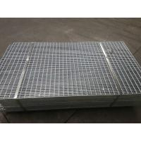 Buy cheap Deformed Construction Gully Welded Steel Bar Grating Fence 30x2 Bolt Fixed Type from wholesalers
